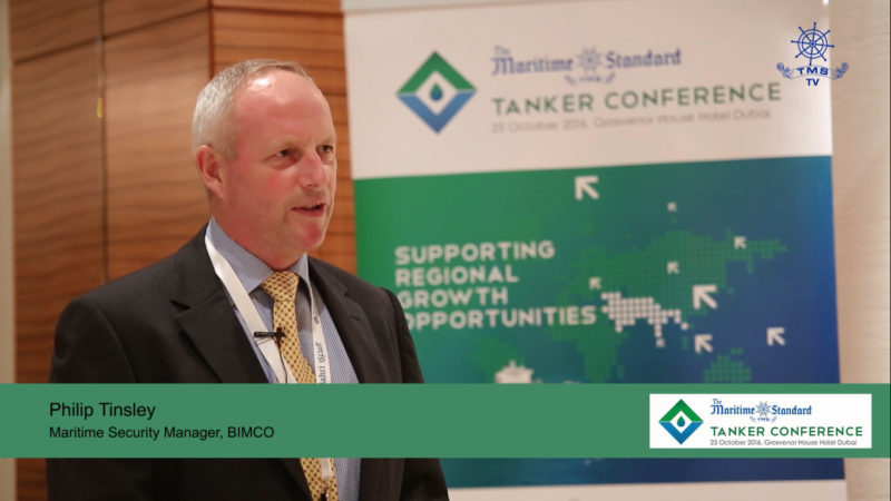 Philip Tinsley, Maritime Security Manager, BIMCO